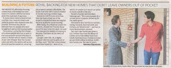 pocket news building future royal backing for new homes that don leave owners out pocket evening standard october