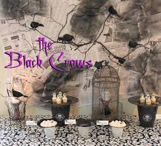 black crow halloween dessert buffet oh my creative