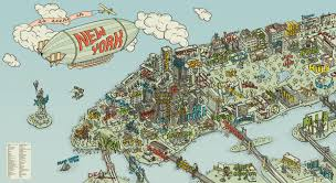 Google Map Of New York by Food Neighborhoods Of Nyc Google Search Illustrations