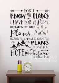 jeremiah 29 11 for i know the plans i have for you declares the