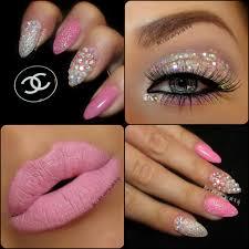 pink nail designs with bows light pink gel nail designs nail