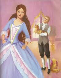 image barbie princess pauper book illustraition 4