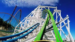 six flags magic mountain twisted colossus front seat on ride hd pov 60fps six flags magic
