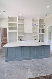 best paint color for gray kitchen cabinets how to create a custom paint color mix blue kitchen island