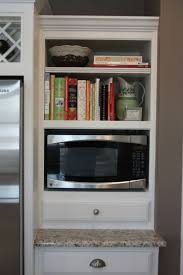 Microwave In Kitchen Island Best 25 Microwave Storage Ideas On Pinterest Microwave Cabinet