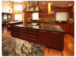 kitchen island with cooktop and seating hard maple wood alpine madison door kitchen with large island