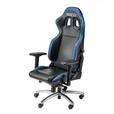 si e auto sparco r100 office chair black blue