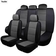 housse de si es auto yuzhe universal auto housse de siège de voiture en cuir pour