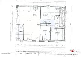 plan maison simple 3 chambres cuisine maison sponsorisã e label rt ã oucques plan plan simple