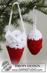 free pattern amigurumi santa claus ornament santa ornaments