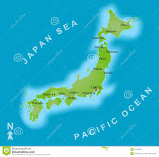 Japan World Map by Japan World Map With A Pixel Diamond Texture Stock Photo Image