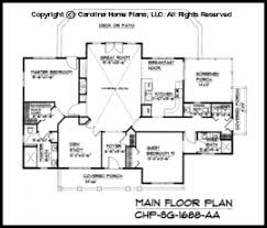 open house floor plans small craftsman cabin house plan chp sg 1688 aa sq ft affordable