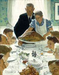 indianapolis thanksgiving dinner place settings norman rockwell museum the home for american