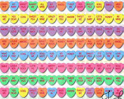 valentines heart candy sayings s day clipart sweet heart pencil and in color