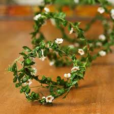 mini artificial blossom roping garland garlands floral
