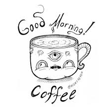 good morning coffee mug 2 by chib on deviantart