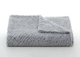 Faux Fur Throw Grey Zebra Grey U0026 Black Fur Blanket Twinkle Twinkle Little One