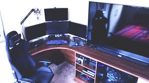 the ultimate youtuber gaming setup tour 2016 youtube