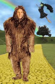 wizard of oz cowardly lion costume fake outrage and the wizard of oz on long island ny daily news