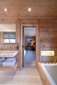 decoration de luxe salle de bain chalet de montagne déco luxueuse et raffinée cabin
