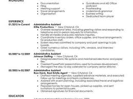 best administrative assistant resume example livecareer sample