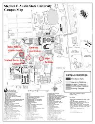 Texas State University Campus Map by Sfa Motivating Mathematics Teachers U0027 Conference College Of