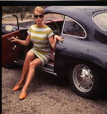 deadly curves vintage porsche and vintage beautiful women in them