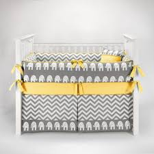 Blue And Yellow Crib Bedding Nursery Beddings Yellow And Gray Chevron Crib Bedding Plus Blue