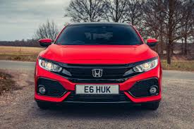 2017 honda civic 1 0 vtec turbo ex manual road test review front grille bumper jpg