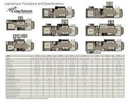 Motorhome Floor Plans 2013 Coachmen Leprechaun Class C Motorhome