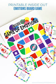 printable inside out emotions board game inside out board games