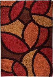 flooring cute orian rugs shag ra la 1714 bloompetal red burgundy