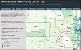 Map Of Colorado Cities And Towns Colorado District Boundaries Colorado Department Of