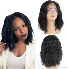 are there any full wigs made from human kinky hair that is styled in a two strand twist for black woman divaswigs lace front wigs for women wet and wavy brazilian virgin