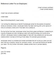 reference letter for terminated employee best resume gallery