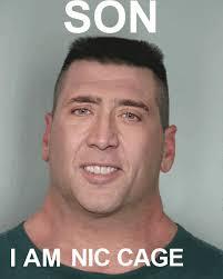 Nicolas Cage Face Meme - cage of thrones by borntobefeatured meme center