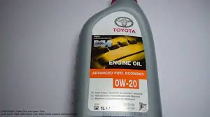 what is the best engine oil for toyota and lexus cars youtube