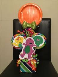 Diy Barney Decorations Barney Theme Decoration By Sweets Event Decor Backdrop