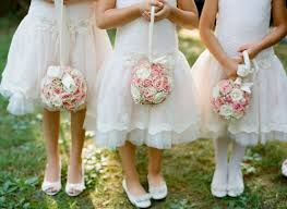 flower girl accessories outdoor wedding flower for flower 889731 weddbook
