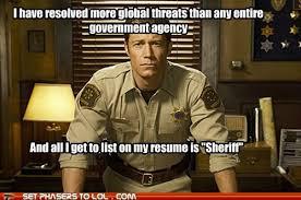 Carter Meme - sheriff jack carter eureka meme so true carter the geek in me