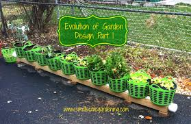 evolution of garden design part 1 small scale gardening