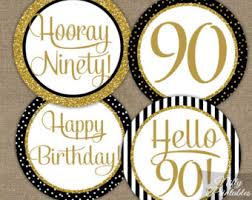 90th Birthday Centerpiece Ideas by 90th Birthday Etsy