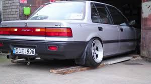 1989 Civic Si Džiza U0027s Slammed U002789 Turbo Civic Youtube
