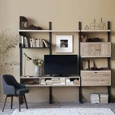Desk Organizer Shelves Desk Wooden Desk With Swivel Storage Shelves Desktop Holder