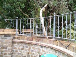 Garden Wall Railings by Garden Railings And Archway Lwc Engineering