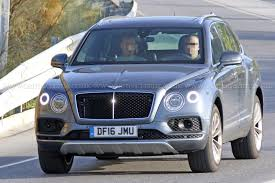 bentley bentayga 2016 price first diesel bentley hits the road bentayga tdi spotted by car