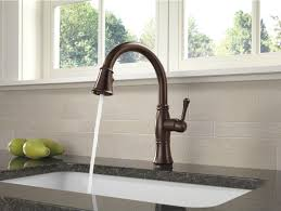 bathroom black delta touch faucet for traditional kitchen design black granite countertop with lenova sinks and dark