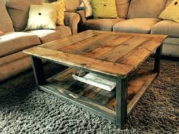 Coffee Table From Pallet Table From Pallet Wood Coffee Pallet Wood End Table Pallet Table