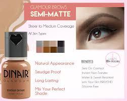 brows dinair airbrush makeup