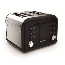 4slice Toasters Morphy Richards 242031 Accents Black 4 Slice Toaster Toasters
